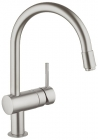 Grohe Minta SuperSteel Kitchen Sink Mixer 32918DC0