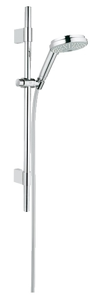 grohe rainshower cosmopolitan 130 shower rail set 3 sprays 28757001 showers. Black Bedroom Furniture Sets. Home Design Ideas