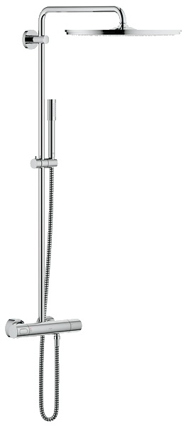 grohe rainshower shower system 400 27174 showers. Black Bedroom Furniture Sets. Home Design Ideas