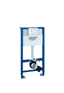 Grohe Rapid SL 0.98m Toilet Frame - 2 In 1 Set 38947