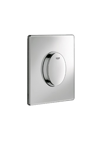 grohe skate air wc wall plate 38564 flush plates. Black Bedroom Furniture Sets. Home Design Ideas