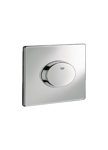 grohe skate air wc wall plate 38565 flush plates. Black Bedroom Furniture Sets. Home Design Ideas