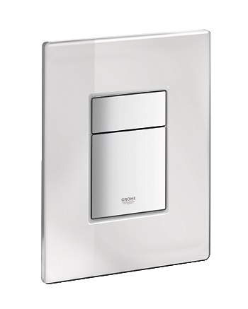 grohe skate cosmopolitan wc wall plate 389160a0 flush plates. Black Bedroom Furniture Sets. Home Design Ideas