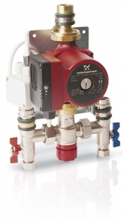 Grundfos Single Circuit Pump and Mixing Valve Unit