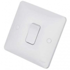 Image for Hager 1 Gang 2 Way Wall Switch - WMPS12