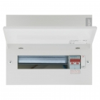 Image for Hager 100A 10 Way Consumer Unit - VML110