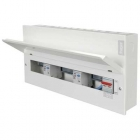 Image for Hager 100A RCD 16 Way Consumer Unit - VML916CURK