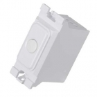 Image for Hager Trailing Edge Grid Dimmer Switch - WMGSD1T