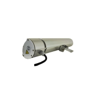 Heat Outdoors Shadow Remote Silver Outdoor Heaters