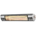 Image for Heat Outdoors Shadow Silver 1.5kW Ultra Low Glare Heater - 901369