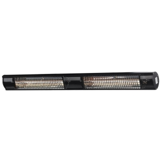 Heat Outdoors Shadow Ultra Low Glare Wall / Suspended Black Heaters