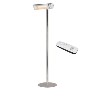 Heat Outdoors Shadow XT + Stand Silver 2.0kW Outdoor Heater