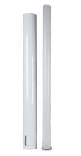 Heatline 60/100mm 1m Flue Extension