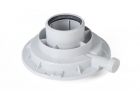 60/100mm Vertical Flue Adaptor