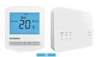 Heatmiser Touch-RF Wireless Programmable Touchscreen Thermostat Kit