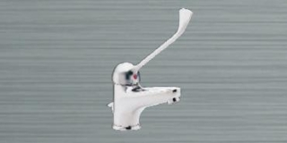 Heatrae Sadia Streamline 2000 Monobloc Mixer Tap with Pop up Waste (Elbow Lever)
