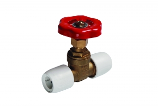 Hep2O Brass Gate Valves