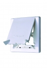Image for Hep2O HX113WH Radiator Outlet Cover With Flap