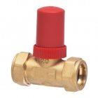Image for Honeywell Dual Auto By-Pass Valve 22mm Straight