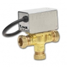 Image for Honeywell V4073A 1039 22mm 3 Port Mid-Position Valve