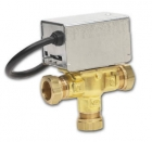 Honeywell V4073A 1039 22mm 3 Port Mid-Position Valve
