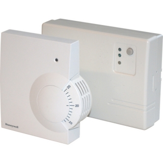 Honeywell Y6630D1007 Wireless Analogue Room Thermostat + HC60 Set
