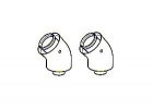 Ideal Flue Elbow 45° Pair - 203131