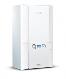 Ideal Logic+ Heat 30kW Regular Boiler Natural Gas ErP