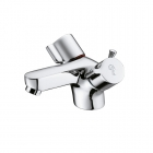 Image for Ideal Standard Alto - Basin Tap - Deck Mounted Monobloc (Dual Control) (With Pop-Up Waste) - Chrome - B9673AA