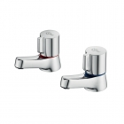 Image for Ideal Standard Alto - Basin Tap - Deck Mounted Pillar (Pair) - Chrome - B0349AA