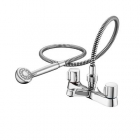 Image for Ideal Standard Alto - Bath Tap - Deck Mounted Bath Shower Mixer - Chrome - B9675AA