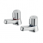 Image for Ideal Standard Alto - Bath Tap - Deck Mounted Pillar (Pair) - Chrome - B0350AA