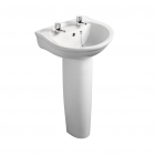 Ideal Standard Alto Pedestal (Full, 500mm-600mm Basins) - E740201