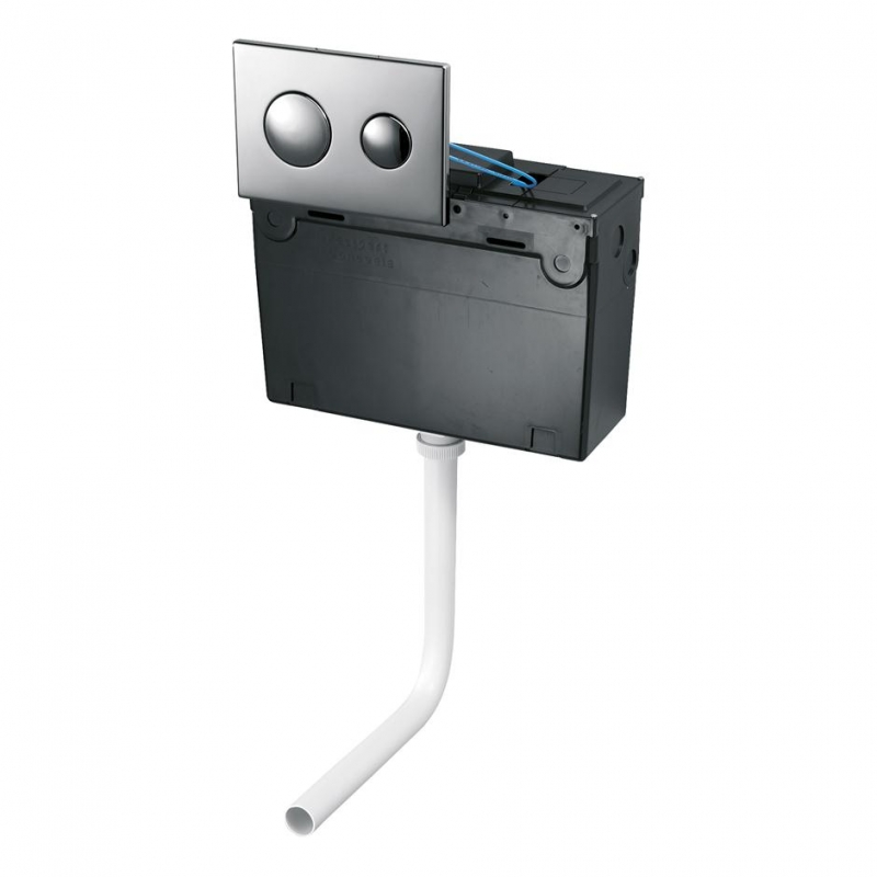 Ideal Standard Conceala 2 Concealed Plastic Cistern Dual Pneumatic ...