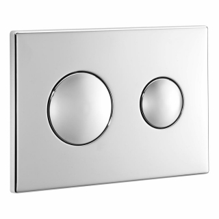 Ideal Standard Conceala Dual Flush Plate - Chrome S4399AA