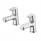 Image for Ideal Standard Concept - Basin Tap - Deck Mounted Pillar (Pair) - Chrome - B9925AA