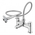 Image for Ideal Standard Concept - Bath Tap - Deck Mounted Bath Shower Mixer - Chrome - B9930AA