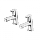 Image for Ideal Standard Concept - Bath Tap - Deck Mounted Pillar (Pair) - Chrome - B9928AA