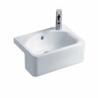 Image for Ideal Standard Concept Cube Semi-Recessed 500mm 1TH LH Basin - E779801