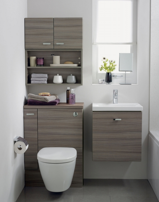Ideal standard concept space furniture bathroom furniture - Bathrooms for small spaces concept ...
