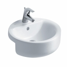 Image for Ideal Standard Concept Sphere Semi-Recessed 450mm 1 Tap Hole Basin - E797901