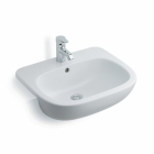 Image for Ideal Standard Jasper Morrison Semi-Recessed 550mm 1 Tap Hole Basin - E6206
