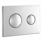 Image for Ideal Standard Logo Flush Plate - Chrome Plated - E4437AA