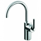Image for Ideal Standard Silver - Basin Tap - Deck Mounted Monobloc (Vessel) - Chrome - E0069AA