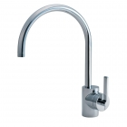 Ideal Standard Silver Single Lever Kitchen Sink Mixer E0083AA