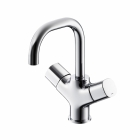 Image for Ideal Standard Tempo - Basin Tap - Deck Mounted Monobloc (Dual Control) - Chrome - B0727AA