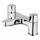 Image for Ideal Standard Tempo - Bath Tap - Deck Mounted Bath Filler (Dual Control) - Chrome - B0730AA