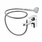 Image for Ideal Standard Tempo - Bath Tap - Deck Mounted Bath Shower Mixer - Chrome - B0733AA