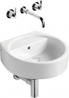 Ideal Standard White - Basin Countertop Cube 400mm 0 Tap Hole - E003601