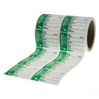 Image for Industrial Signs IS4825OR Self Adhesive Vinyl On A Roll - Pass Test Labels - Large